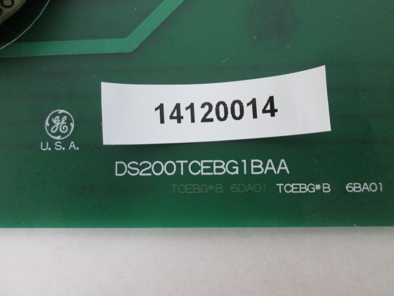 General Electric DS200TCEBG1BAA COMMON CİRCUIT EOS BOARD