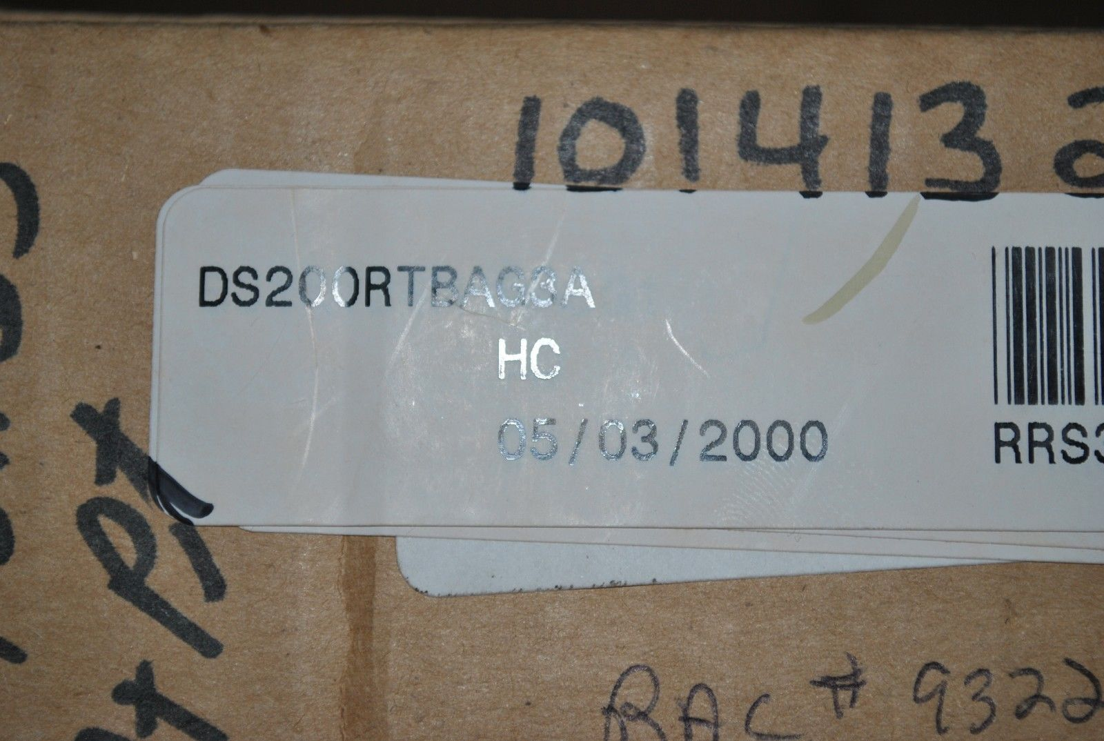 GE DS200RTBAG3AHC Fanuc Speedtronic relay board