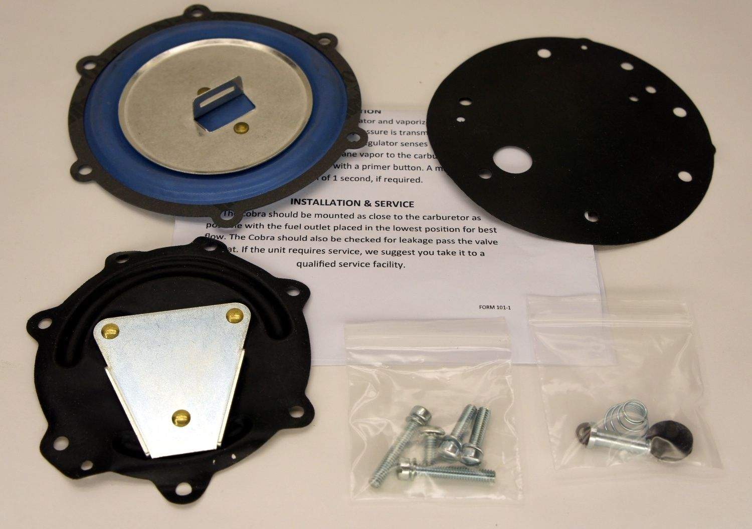IMPCO RK-COBRA Repair Kit, LPG Regulator COBRA