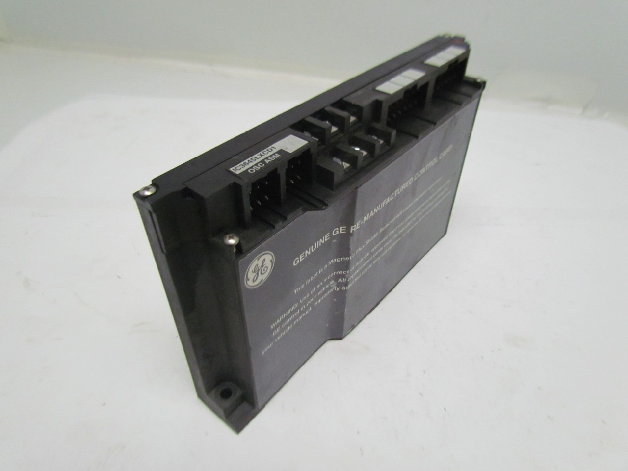 GE IC3645LXCD1LP EV100 Traction Control Card