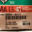 Cummins Onan0300-6411Control Panel