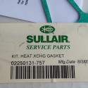 Sullair 02250131-757 Gasket Kit, Head Exchanger