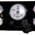 Yanmar YM-INST-5G Marine Engine Instrument Panel-5 Gauge