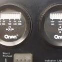 Cummins Onan0319-5580-02Genset Control Panel